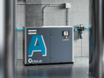 Compresseurs à vis sans huile à injection d'eau AQ