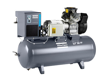 Compresseurs à pistons en aluminium sans huile LF