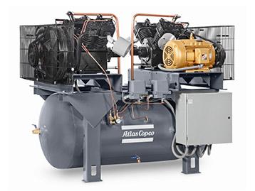 Compresseurs à pistons industriels en fonte LS et LP