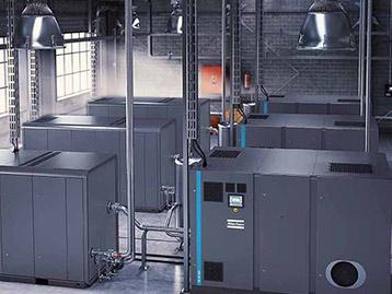 Compresseur à vis sans huile moyenne pression avec surpresseur à piston haute pression ZD (VSD)