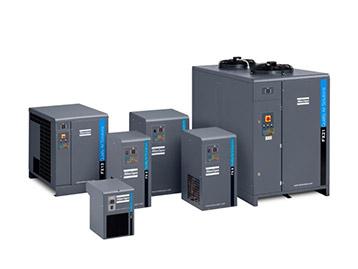 Sécheurs d'air frigorifiques industriels FX pour les compresseurs