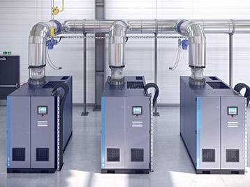 Soufflantes d'air centrifuges sans huile ZB VSD+